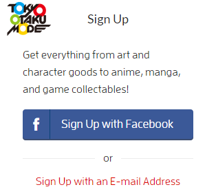 sign up tokyo otaku mode