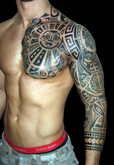 tribal tattoo designs for arms-17
