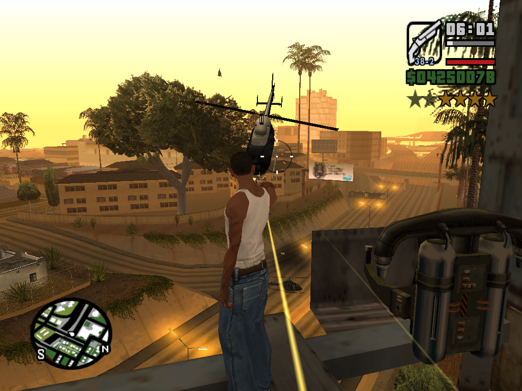 GTA San Andreas Game Screenshot