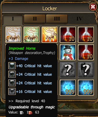 Drakensang inventory tip