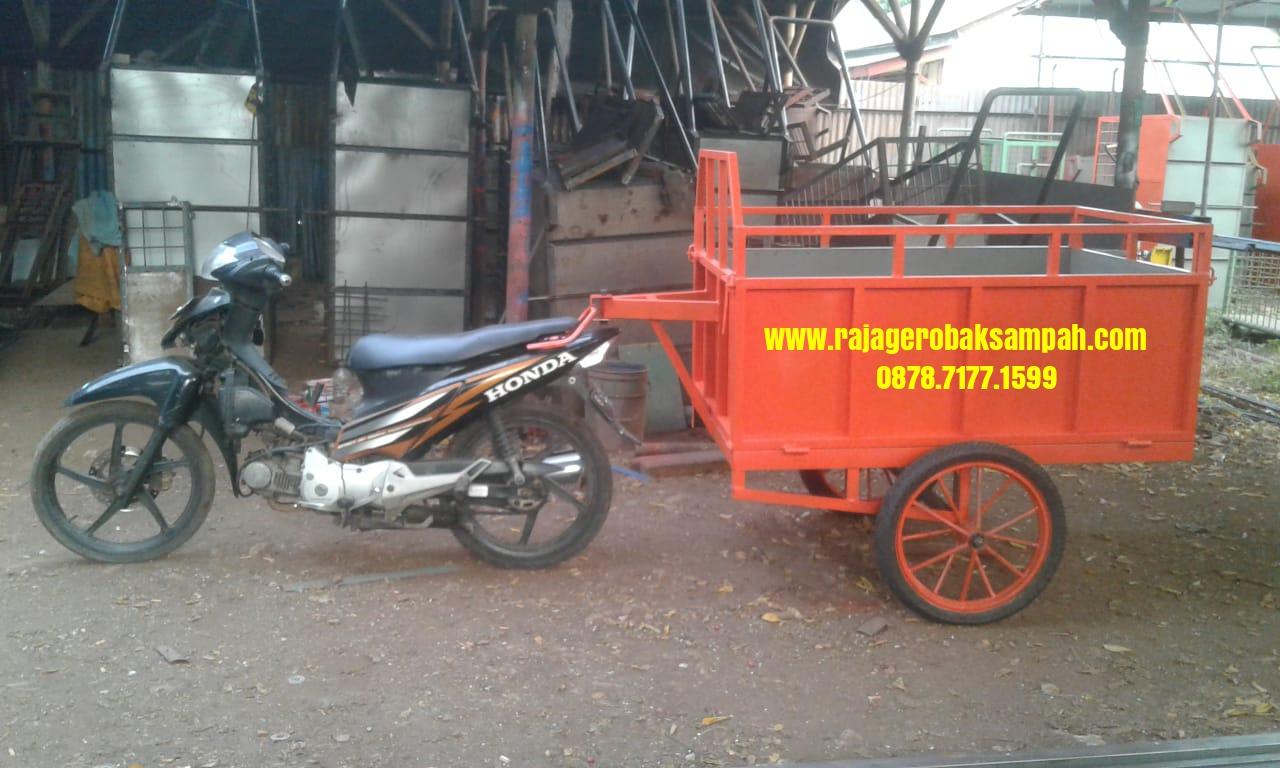 Gerobak sampah Motor