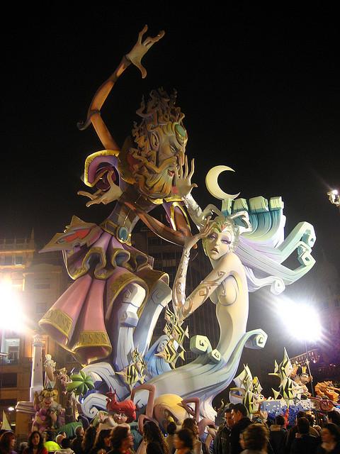 Rzeźby Las Fallas