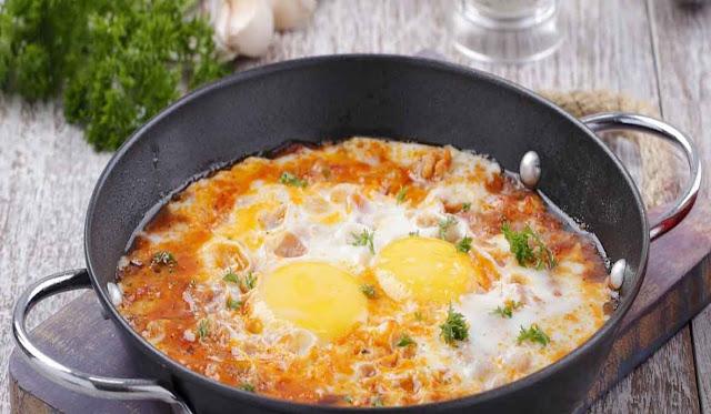 Resep Hot Plate Telur Saus Pizza