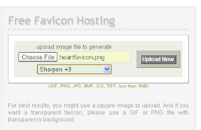free favicon hosting, tips