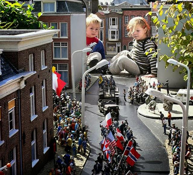 荷蘭馬德羅丹小人國