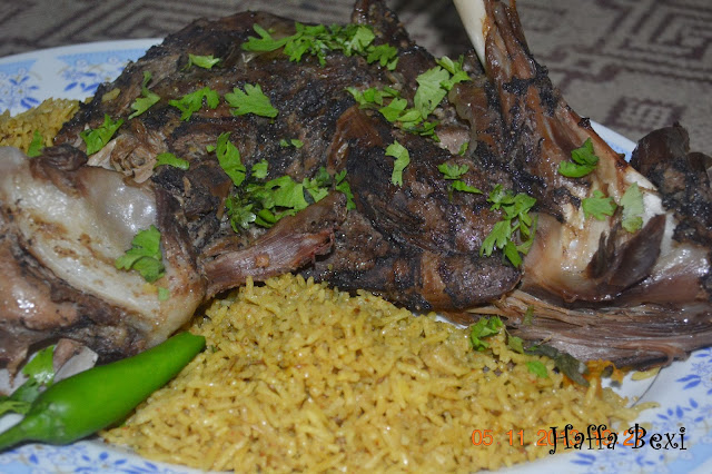 baked lamb, bhuni hoi raan, Eid ul azha recipes, goat leg roast, lamb recipes, Meat, Mutton leg roast, pakistani recipe, raan, Mutton leg steam, leg recipes, mutton recipes, meat