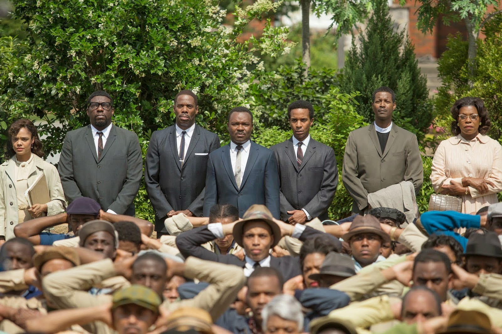 Selma, Ava DuVernay, David Oyelowo, film, protesters, social injustice, Oscar nomination
