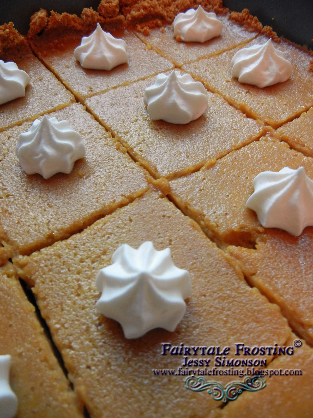 Fairytale Frosting: Pumpkin Cheesecake Bars