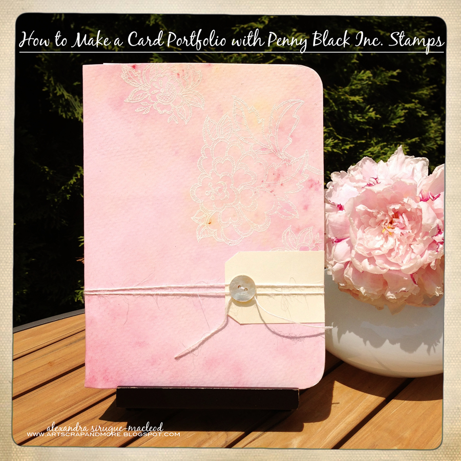 alexandra s sunday scrapbooking how to make a card portfolio tutorial to make a card portfolio i made it for my daughter gallianne lily who enjoys looking back at the cards she received for her tenth birthday