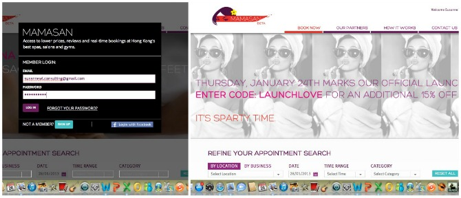 Mamasan online registration