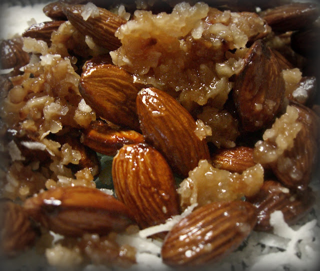 ~candied coconut almonds~