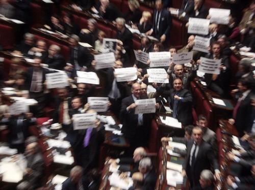 Informazione contro alla camera dilaga la rivolta dei for Camera dei deputati tv