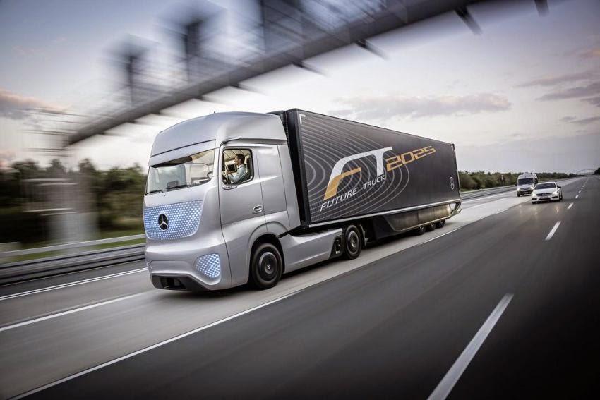 Lori Konsep Masa Hadapan 2025 dari Mercedes Benz 18 Gambar