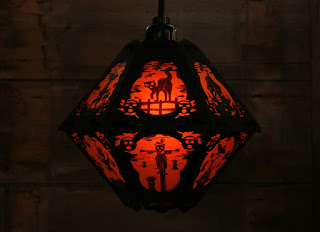 Updated images of The Pumpkin Dream on Halloween Lantern for Bindlegrim holiday products