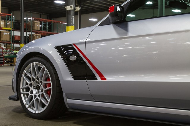 2013 Ford Mustang Tuned By Roush driver side