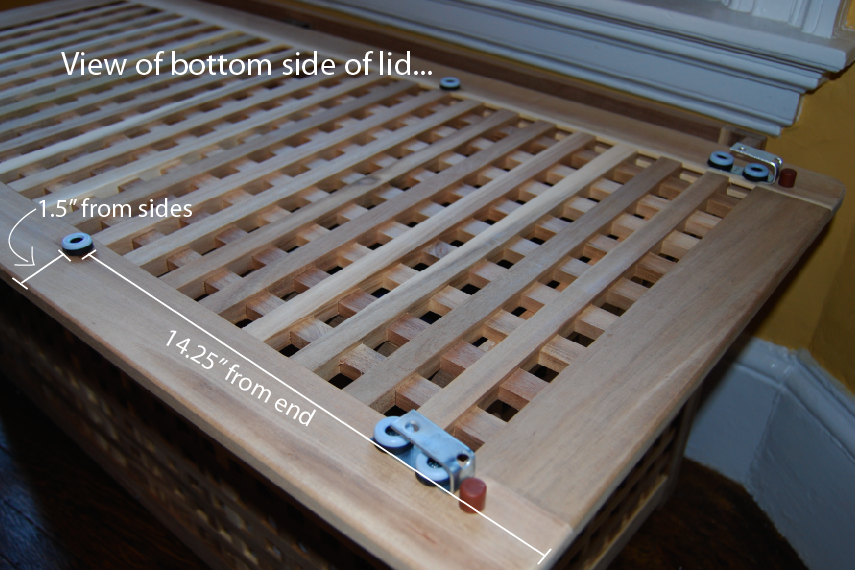 Hol Cat Litter Box With Sliding Top Ikea Hackers Ikea