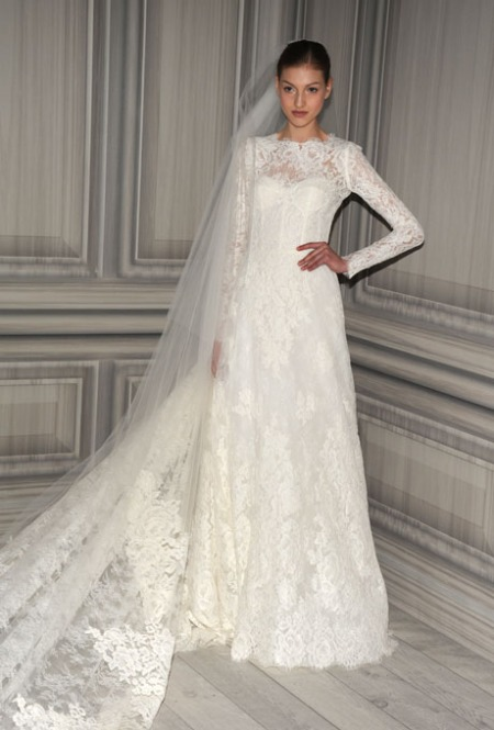 Monique Lhuillier - Spring 2012 | Bridal Runway Shows | Wedding