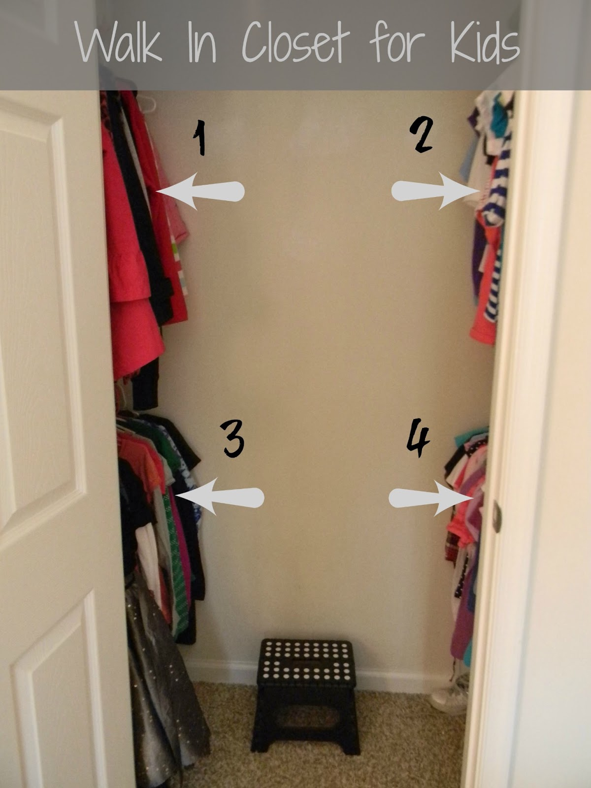 Seaside interiors improving closet space with new shelving for Adding a walk in closet