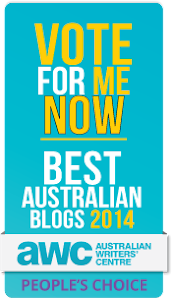 "Nominee for the ""Best"" Australian Blog"