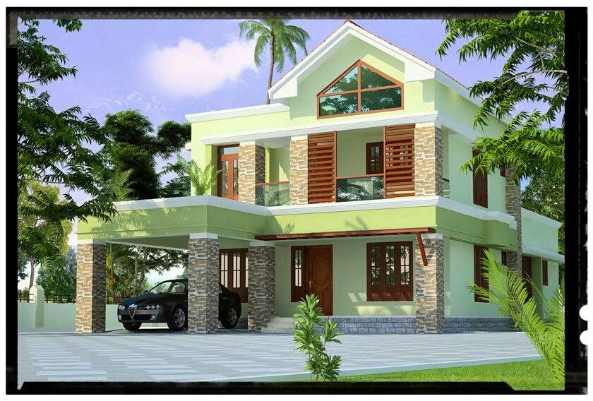 Veedu Designs Beautiful Double Storied Home Design