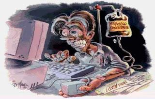 Trastornos Tecnológicos, Tensión ocular