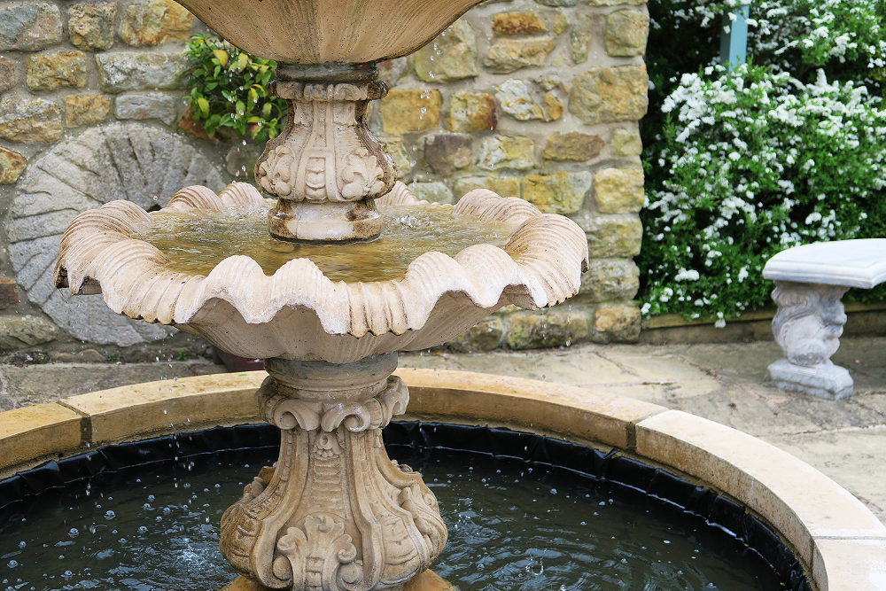 Fountain at Ox Pasture Hall