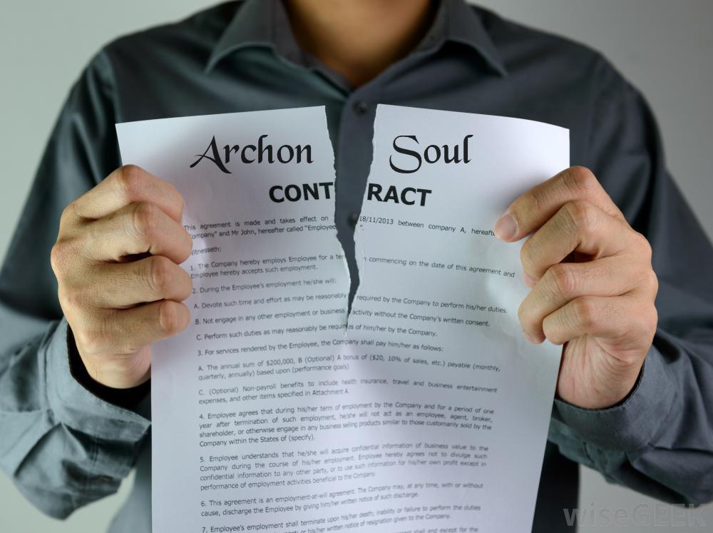 Revogação dos Contractos Primários