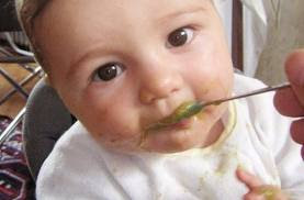 PURÉ VERDECITO SABROSO comidaparabebes.blogspot.com