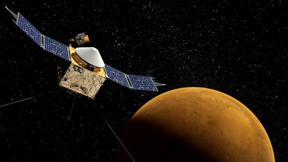 """Το μη επανδρωμένο διαστημόπλοιο """"Maven"""" έχει εισέλθει σε τροχιά του Άρη μετά από ένα ταξίδι δέκα μηνών"""
