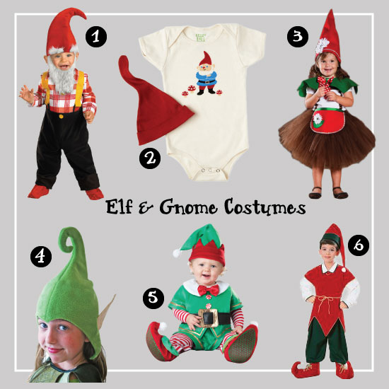 Elf and Gnome Costumes.