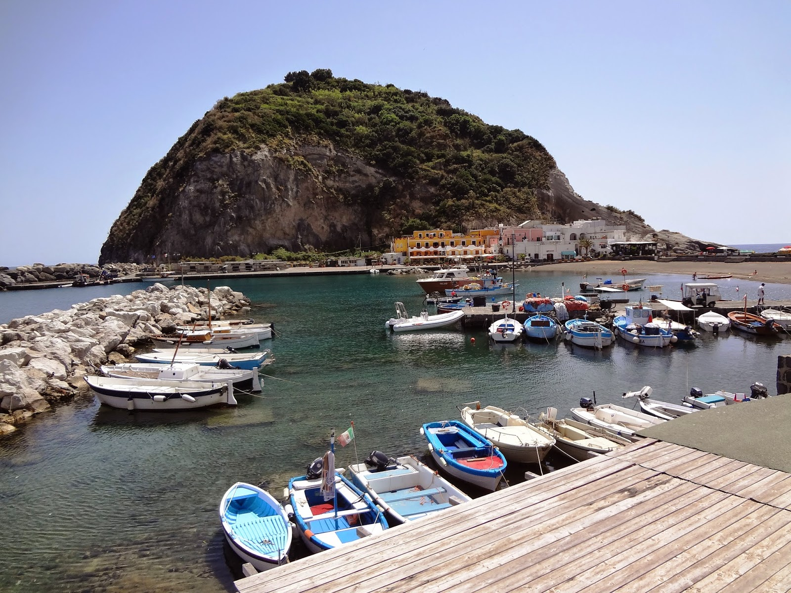 Sant'Angelo on Ischia island