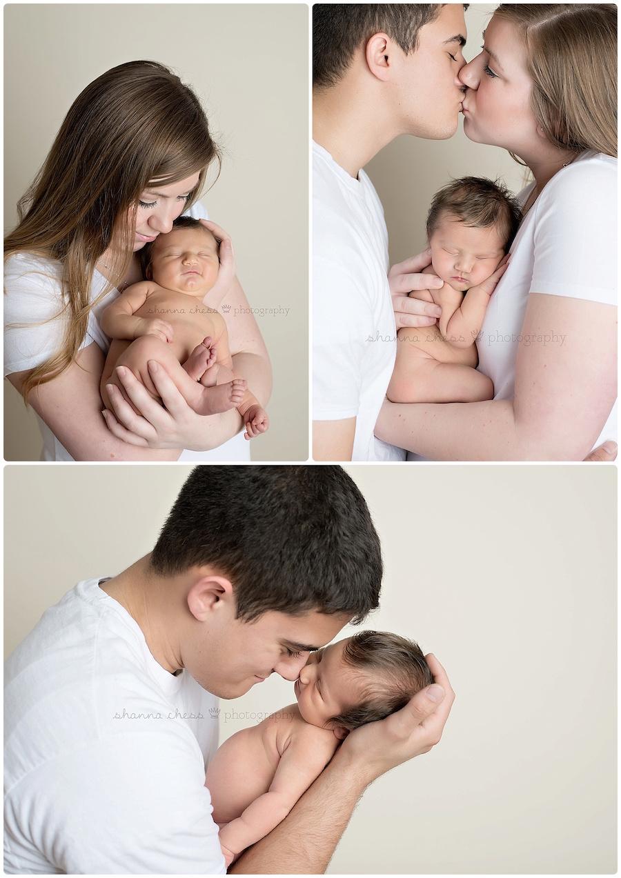 eugene springfield oregon newborn photography parents