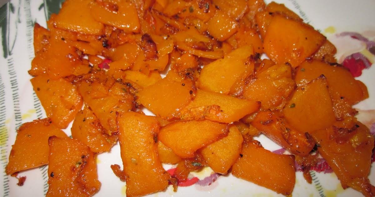 Cocina y hornea calabaza frita en actifry - Cocinar calabaza frita ...