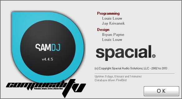 SAM DJ 2013 Full Final Programa para DJ Profesional
