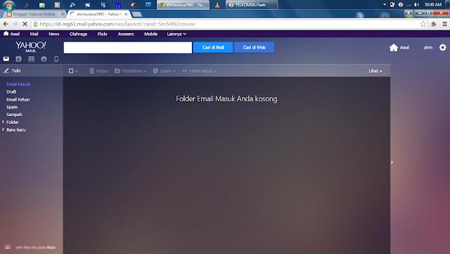 Buat email Yahoo Mudah Cepat
