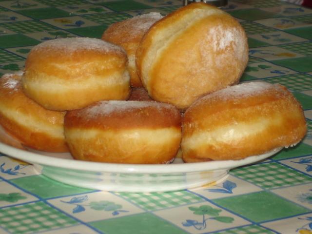 Рецепты пончиков на дрожжах