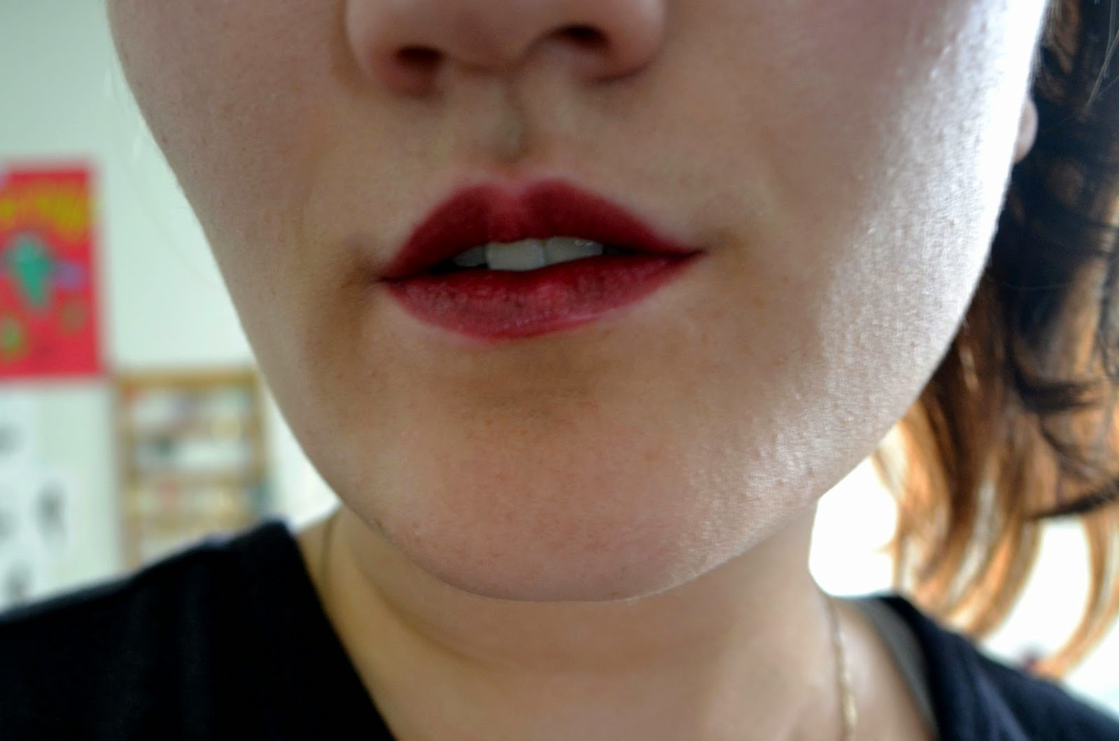 Maybelline Plum Perfect lipstick try on