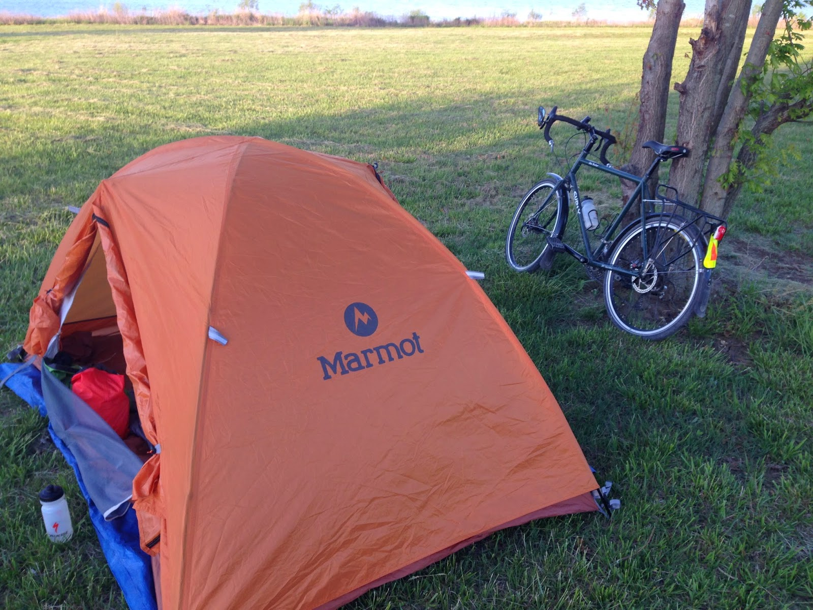 I bought this Marmot Aspen 2 three years ago for $120 and it has held up well. & KC Bicycle Touring: 2014