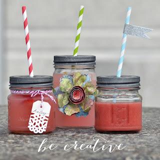 summer drinks on Creative Bag's blog