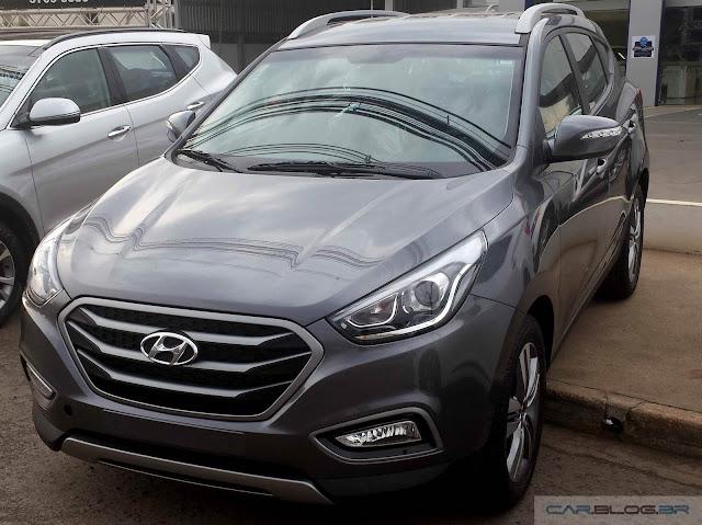 Novo Hyundai ix35 2016 - Cinza metálico