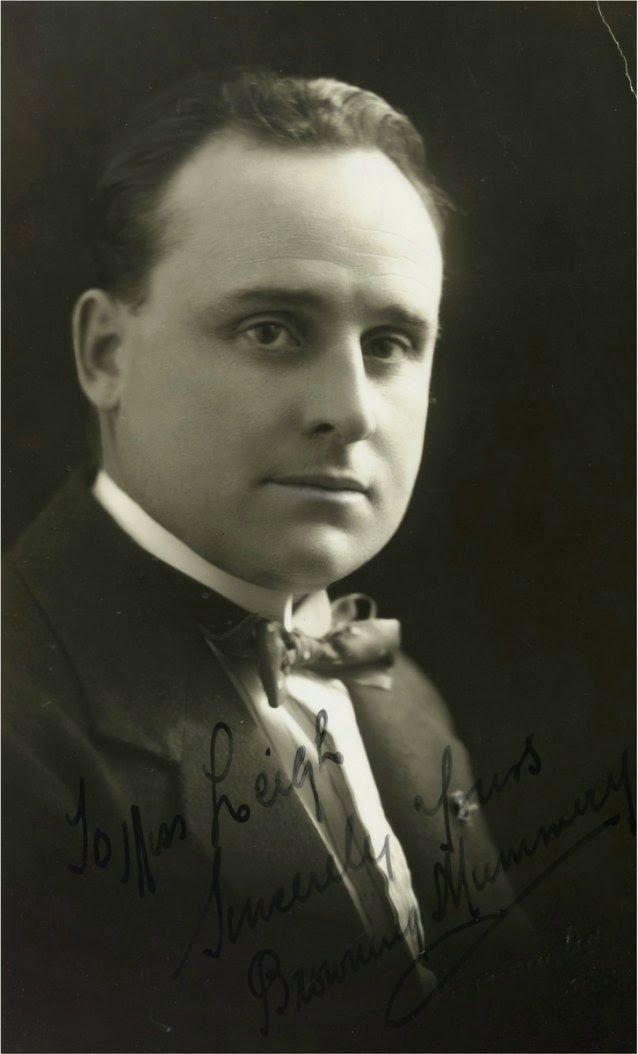 AUSTRALIAN TENOR BROWNING MUMMERY (1888-1974) CD