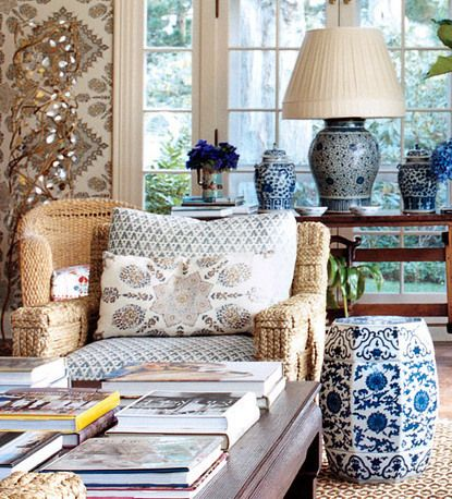 Chinoiserie Chic Coastal Chinoiserie