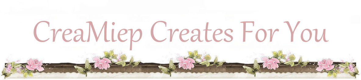 CreaMiep Creates For You