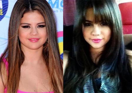 Selena Gomez cambio de look
