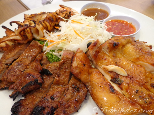 Siam Siam Grilled Combo Platter