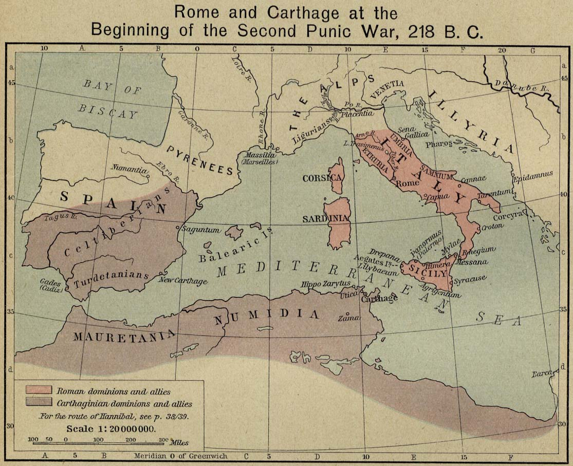 bone north africa map