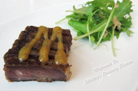 hashi japanese restaurant beef sirloin misozuke