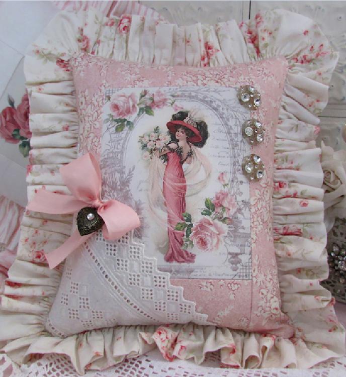 cuscino vittoriano