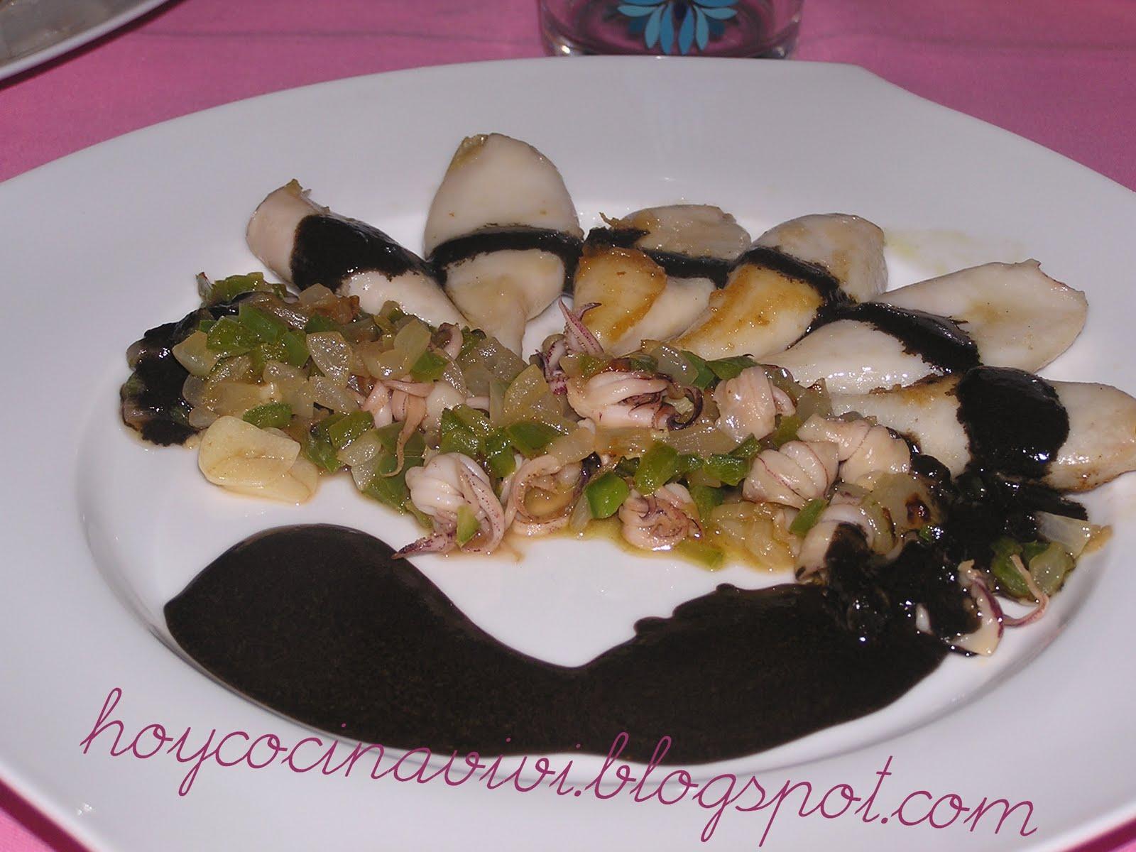 Cocinar Calamares En Su Tinta | Hoy Cocina Vivi Calamares En Su Tinta Receta De Karlos Arguinano