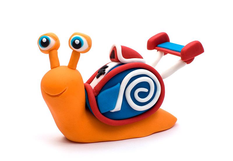 Turbo fondant figurines